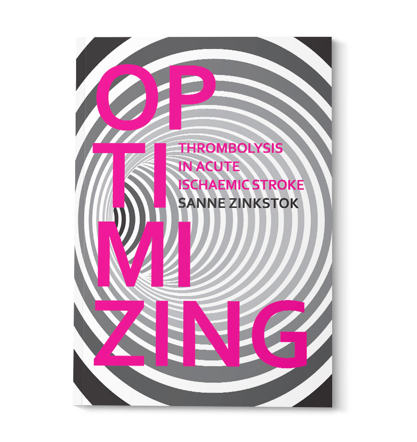 Thesis cover design for Sanne Zinkstok - isontwerp.nl