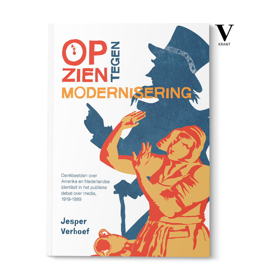 thesis cover design and cover illustration for Jesper Verhoef - isontwerp.nl